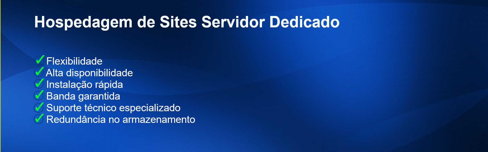 Hospedagem de Site e Servidor Dedicado